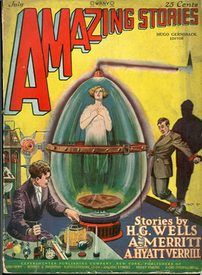 Amazing Stories - Jul 1927