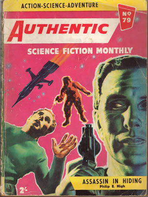 Authentic Science Fiction No: 79 - Apr 1957