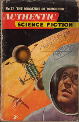 Authentic Science Fiction No: 77 - Feb 1957