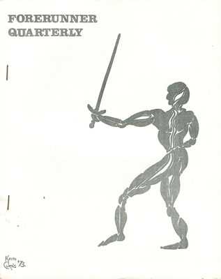 Forerunner Quarterly No: 1 - Aug 1975
