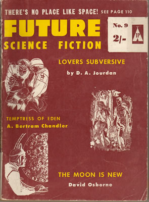 Future Science Fiction (British Edition) No: 9 - Sep 1959