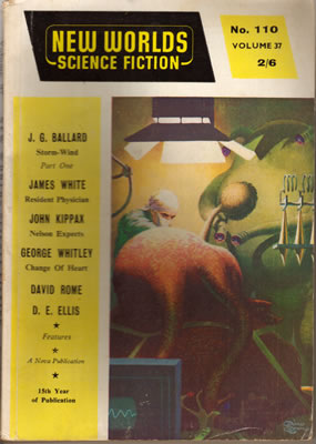 New Worlds No: 110 - Sep 1961