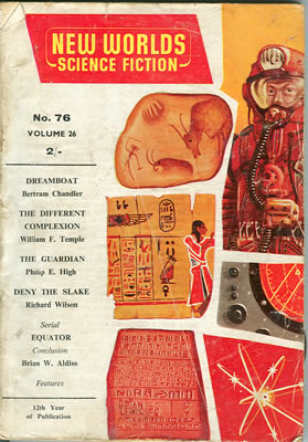 New Worlds No: 76 - Oct 1958