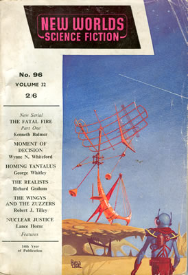 New Worlds No: 96 - Jul 1960