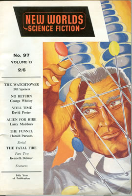New Worlds No: 97 - Aug 1960