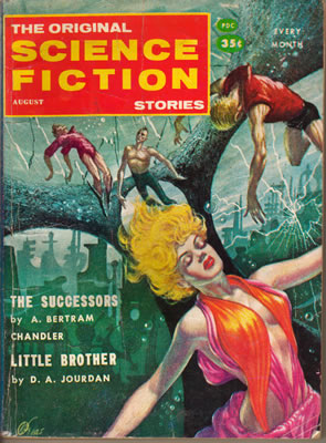 Science Fiction Stories - Aug 1958