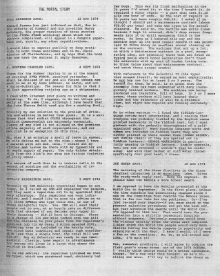 SFWA Forum No: 33 - Apr 1974
