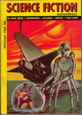 Science Fiction Adventures - Feb 1953