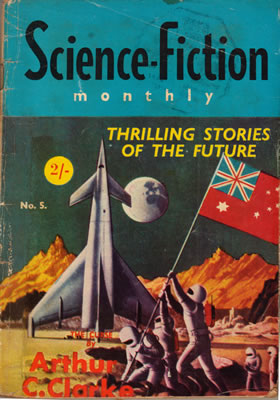 Science Fiction Monthly (Australian) No: 5 - Jan 1956