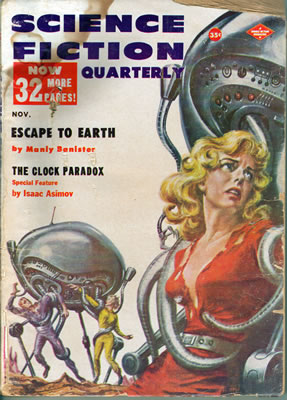 Science Fiction Quarterly - Nov 1957