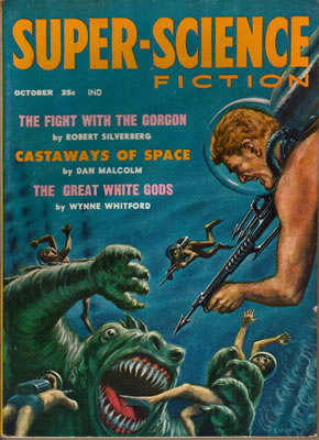 Super-Science Fiction - Oct 1958