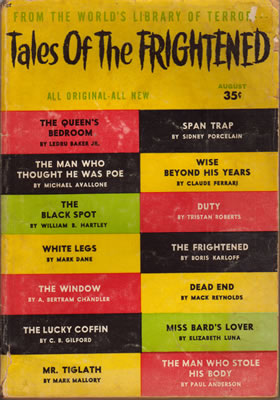 Tales of the Frightened - Aug 1957