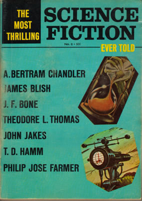 The Most Thrilling Science Fiction Ever Told No: 6 1967