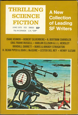 Thrilling Science Fiction - Jun 1973