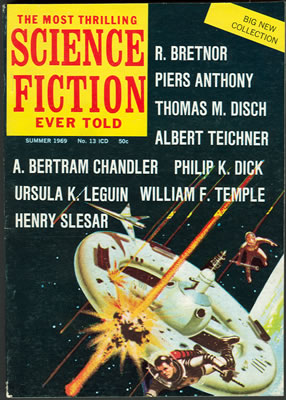The Most Thrilling Science Fiction Ever Told No: 13 - Su 1969