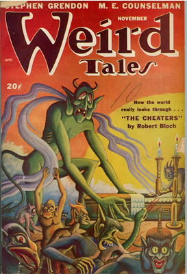 Weird Tales - Nov 1947