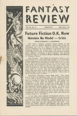 Fantasy Review No: 8 - Apr/May 1948