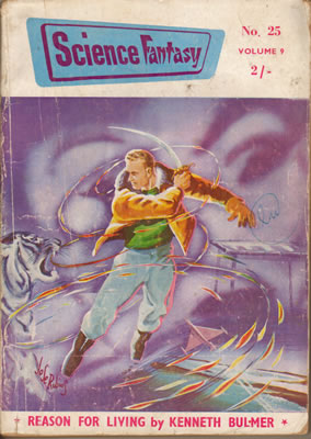 Science Fantasy No: 25 - Oct 1957